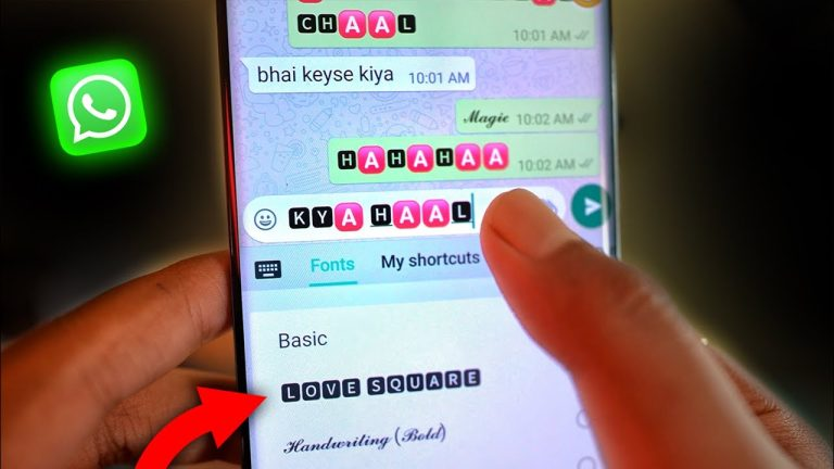 whatsapp chat style change kaise kare