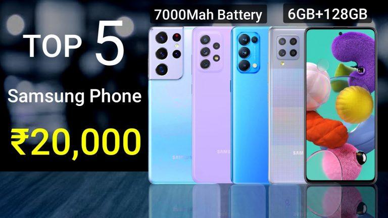 top 5 best samsung mobile phones under 20000