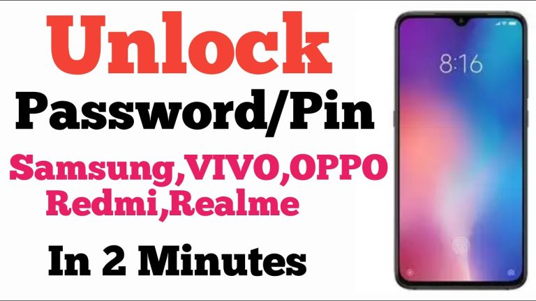 unlock password
